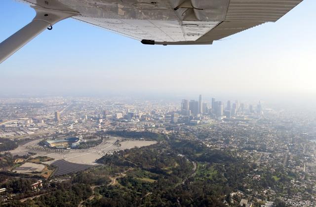 ロサンゼルス遊覧飛行