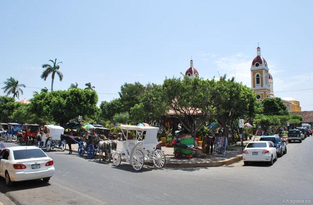 グラナダ コロン公園