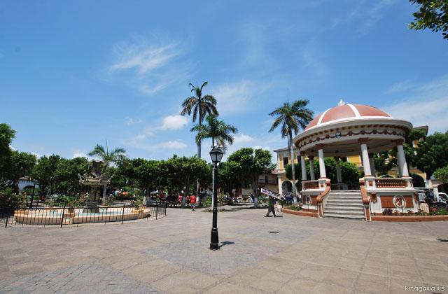 グラナダ コロン広場 ニカラグア