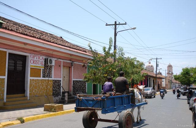 ニカラグア旅行記 グラナダ観光