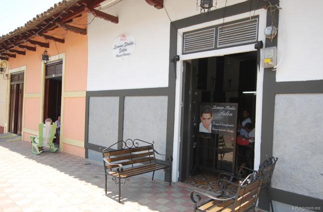 ニカラグアの床屋