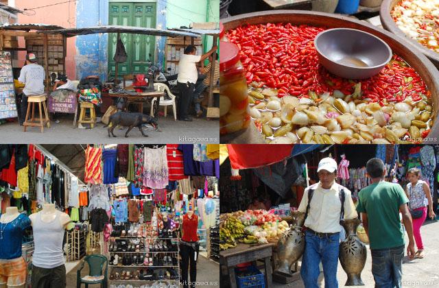 Granada Central Market Nicaragua