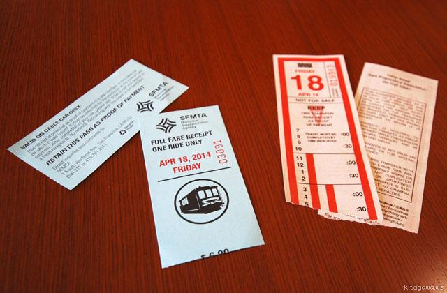 ケーブルカー チケット