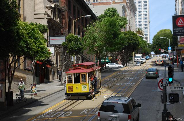 ケーブルカー サンフランシスコ