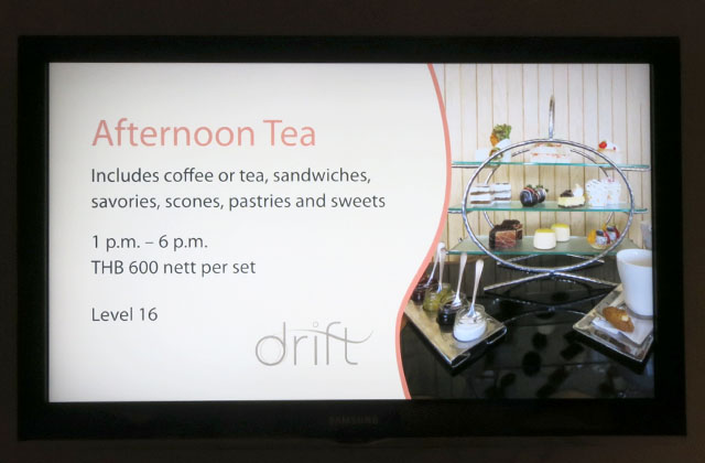 Afternoon Tea at Drift