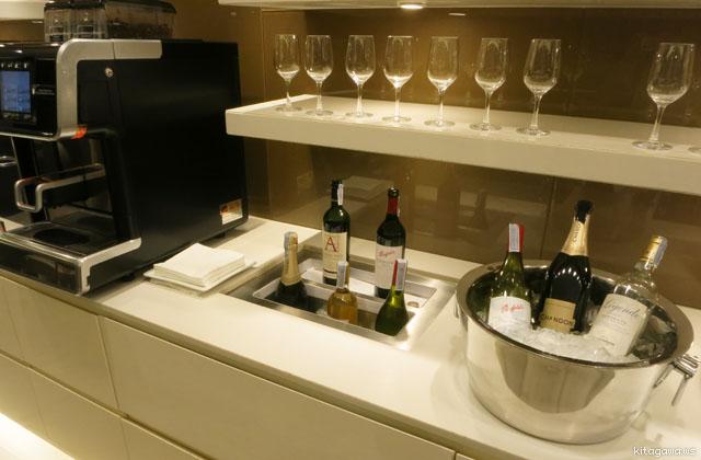 ワインとシャンパン