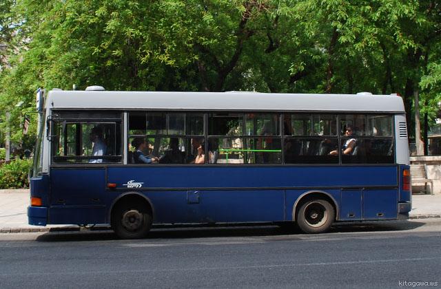 ブダペスト BKV バス