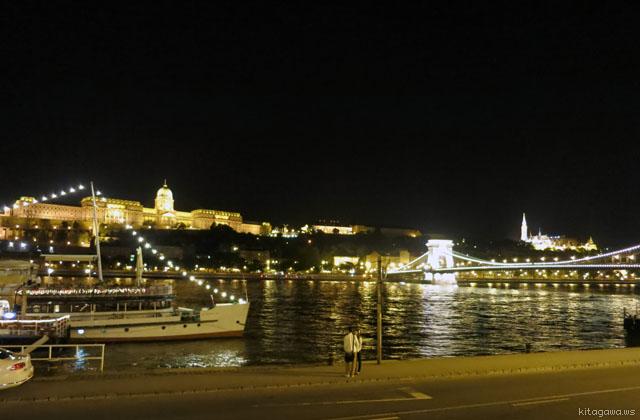 ドナウ川 夜景