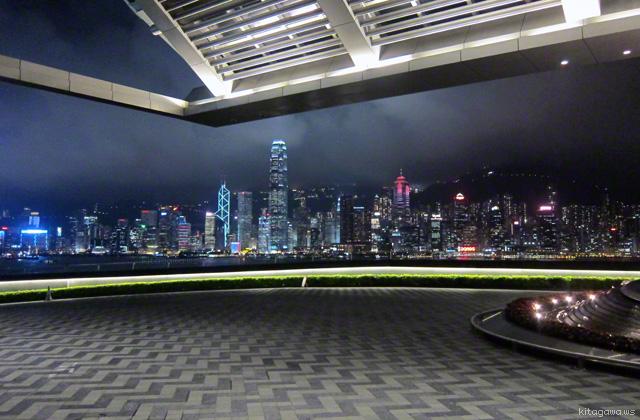 香港 ビクトリアハーバー 夜景
