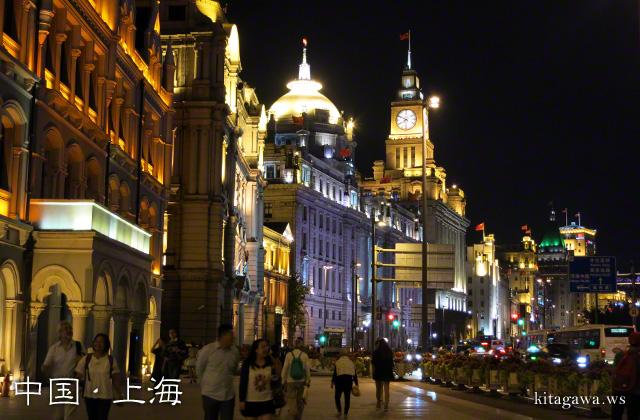 上海 外灘 夜景