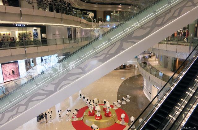 上海国金中心商場