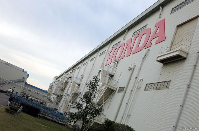 HONDA工場見学