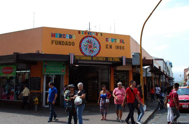 コスタリカ 中央市場 サンホセ