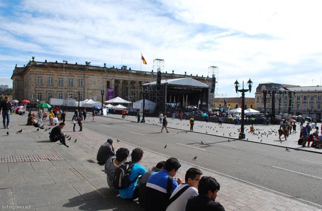 コロンビア 国会議事堂 ボゴタ