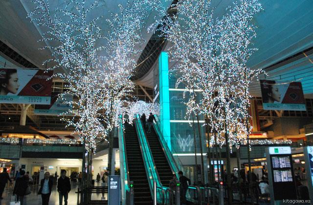 羽田 Sky illumination