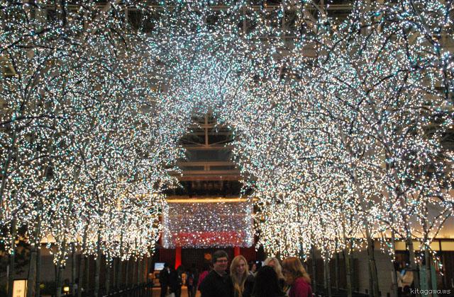 羽田 Sky illumination ライトアップ