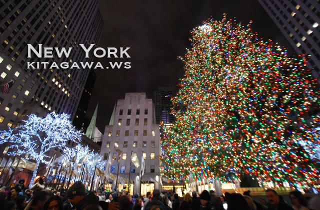 ロックフェラーセンター・クリスマスツリー