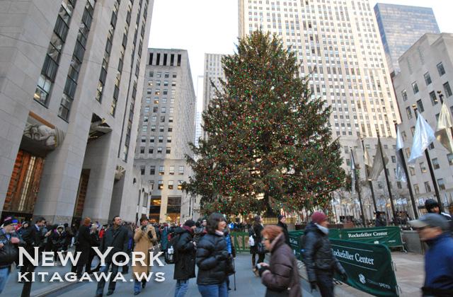 ロックフェラーセンター クリスマスツリー