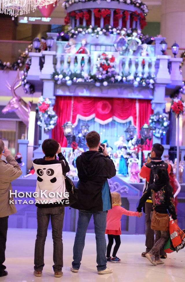 香港エレメンツのクリスマスモニュメント2015