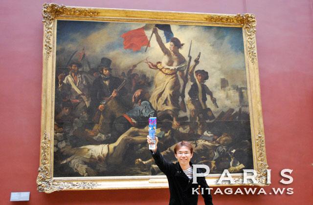 民衆を導く自由の女神 La Liberté guidant le peuple ウジェーヌ・ドラクロワ