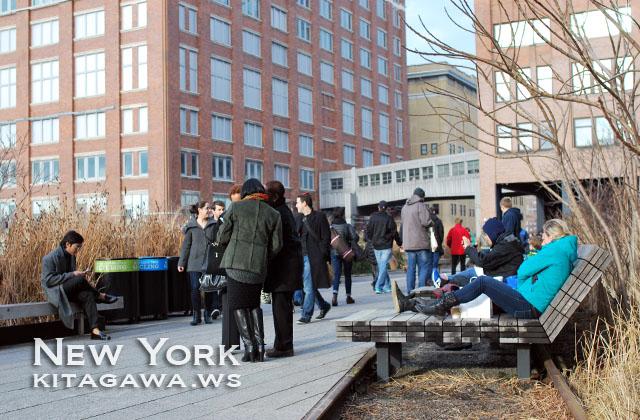 ハイライン High Line ニューヨーク