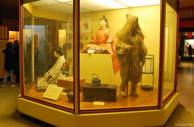 アメリカ自然史博物館 日本の展示