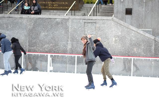 ロックフェラーセンター アイススケートリンク