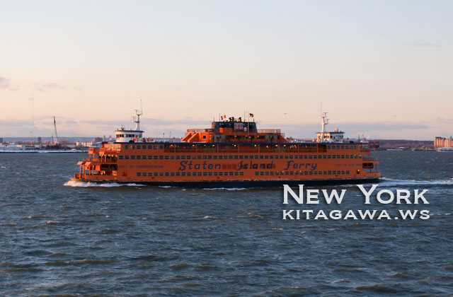 スタテン島フェリー The Staten Island Ferry