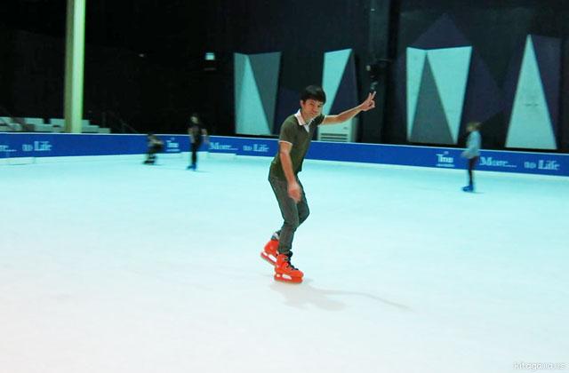 バンコク Sub-Zero アイススケートリンク