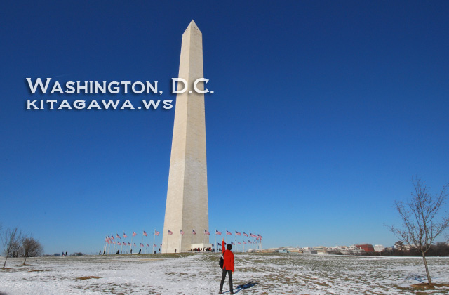 アメリカ旅行記 ワシントン観光