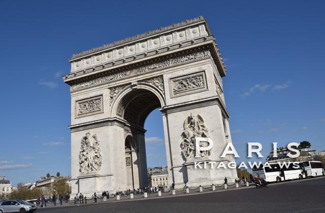 エトワール凱旋門 パリ