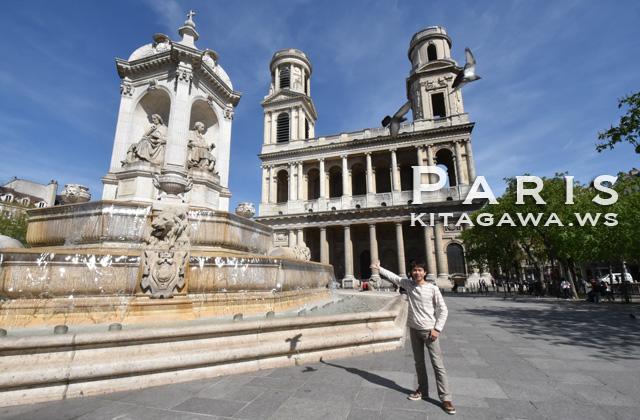 サンシュルピス教会 パリ
