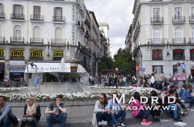 スペイン旅行記 マドリッド観光