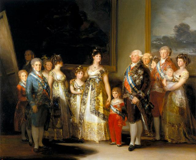 カルロス4世の家族