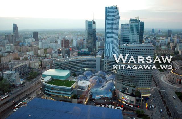 ポーランド旅行記 ワルシャワ観光