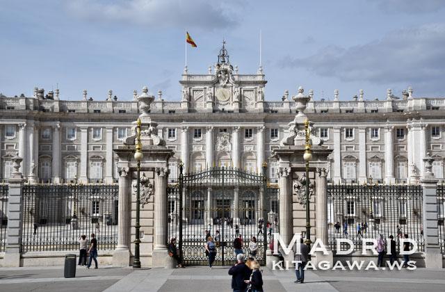 スペイン 王宮 マドリード