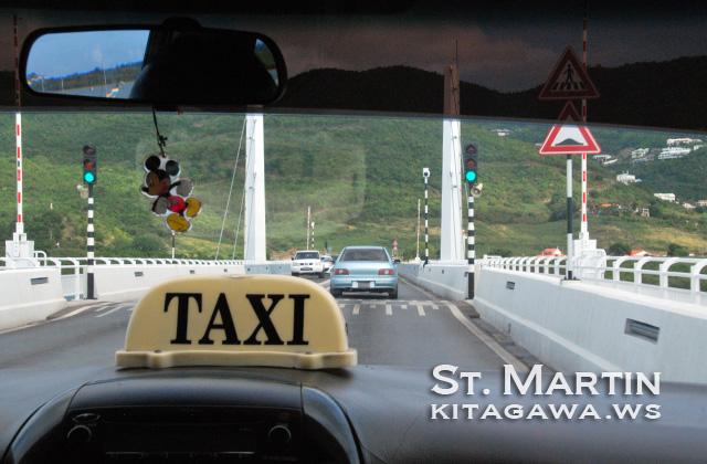 セントマーチン タクシー