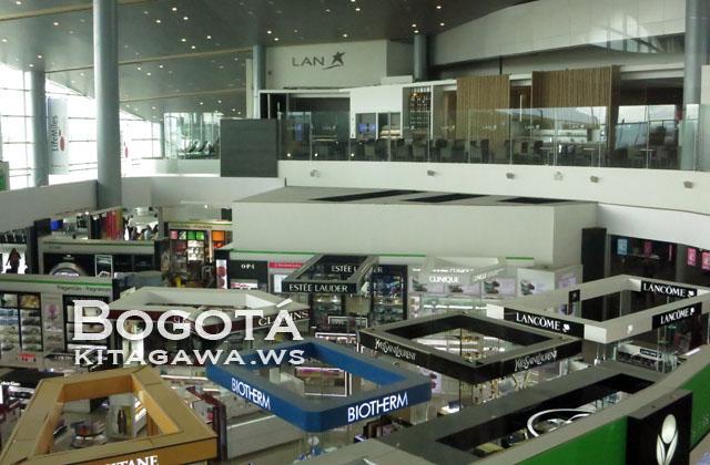コロンビア ボゴタ エルドラド国際空港