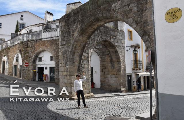 アグア・デ・プラタ水道橋 Aqueduto da Água de Prata エヴォラ・ポルトガル