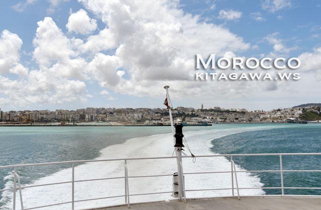 スペイン・タリファ モロッコ・タンジェ フェリー 船 行き方