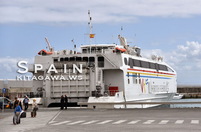 モロッコからスペイン 船
