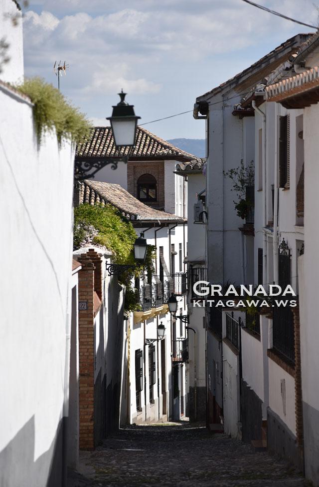 スペイン旅行記 グラナダ観光 アルバイシン地区