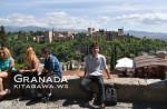 グラナダ旅行記 アルバイシン地区 アルハンブラ宮殿