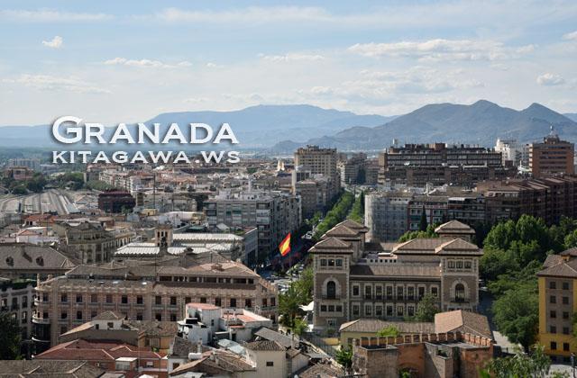 スペイン旅行記 グラナダ観光