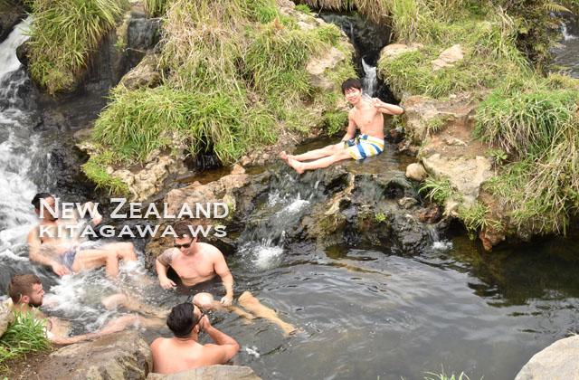 スパサーマルパーク 温泉 ニュージーランド