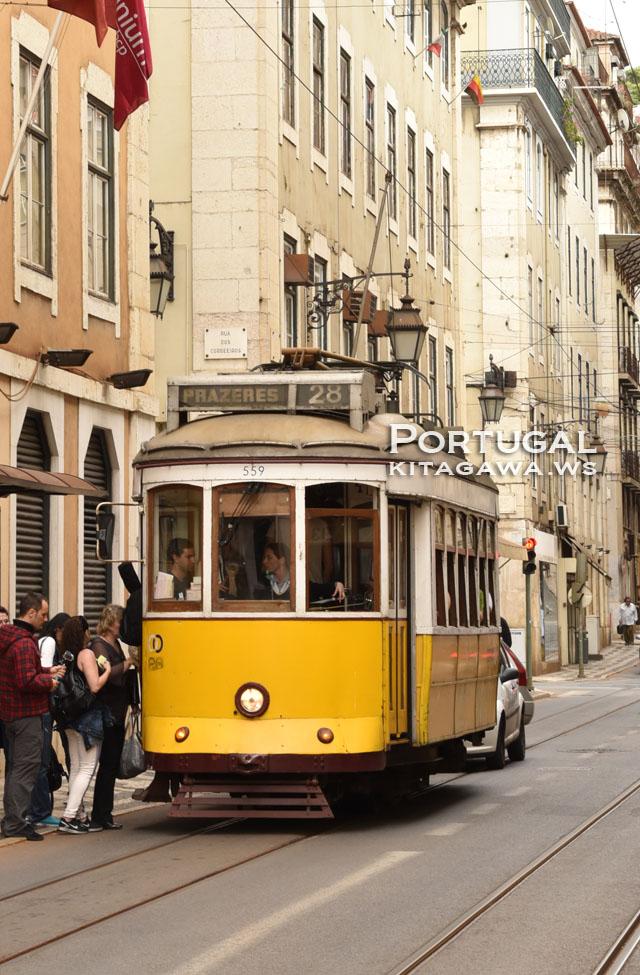 ポルトガル リスボン バス 市電 トラム