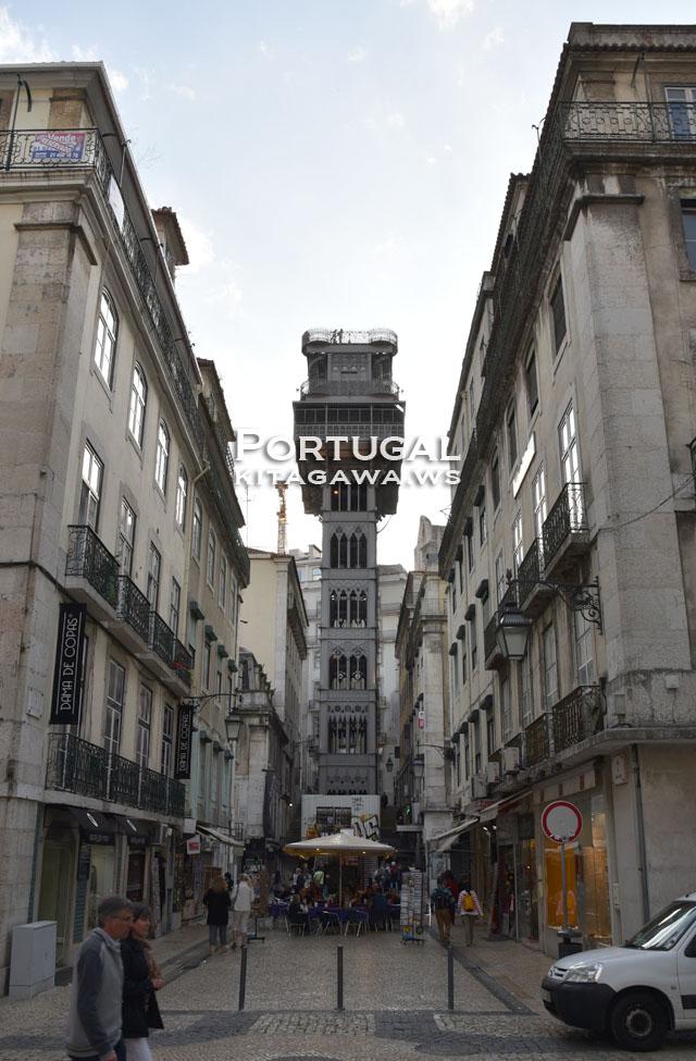 サンタ・ジュスタのエレベーター Elevador de Santa Justa
