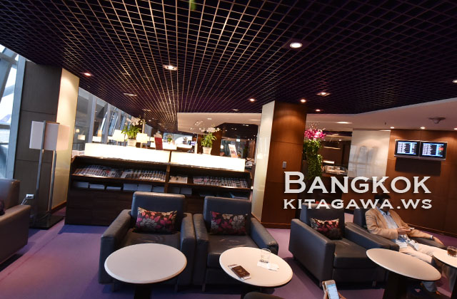 タイ航空スワンナプーム空港ロイヤルシルクラウンジ Cコンコース