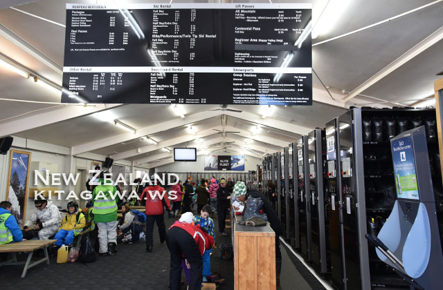 ニュージーランド ファカパパスキー レンタル