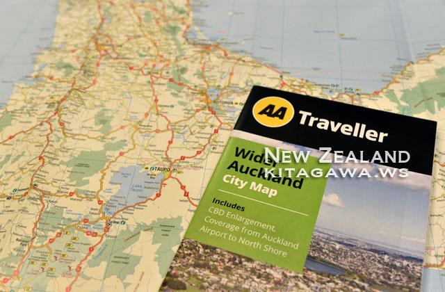 ニュージーランド ドライブマップ